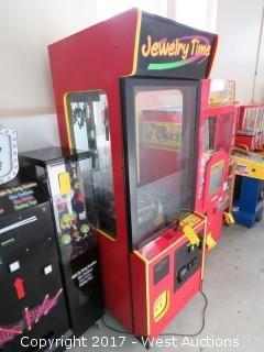 Jewelry Time Arcade Claw Machine