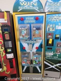 Arcade Ticket Prize Machine