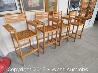 (4) Pool Table Chairs