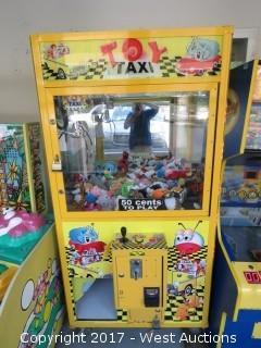 Toy Taxi Arcade Claw Machine