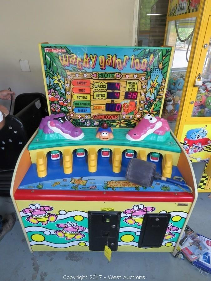 Arcade Games and Furniture from Hotel
