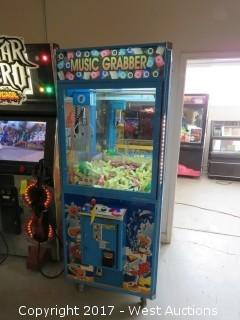 Music Grabber Arcade Claw Machine