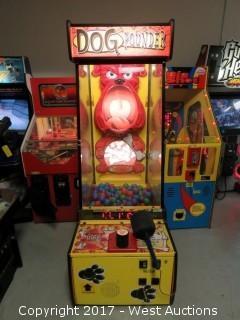 Dog Pounder Arcade Mallet Machine
