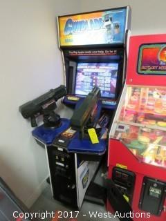 SEGA Gunblade Special Air Assault Force NY Arcade Machine