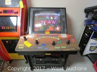 Sunset Riders Arcade Machine