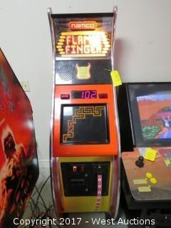 Namco Flamin' Finger Arcade Machine
