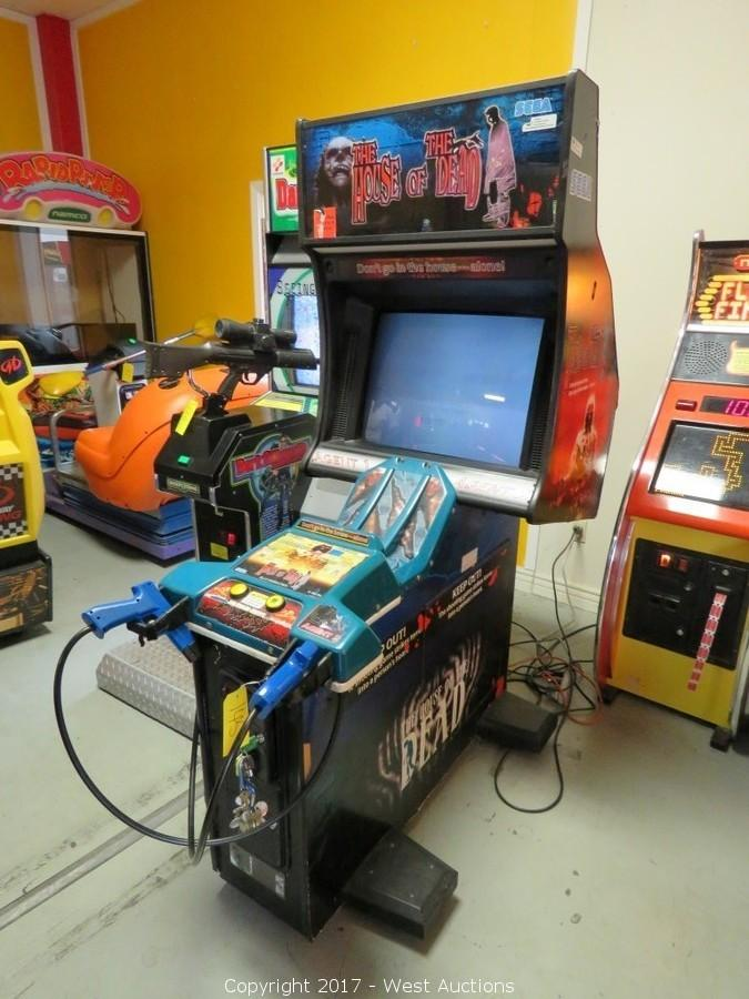 West Auctions Auction Arcade Games And Furniture From Hotel