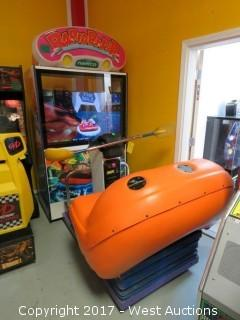 Namco Rapid River Arcade Machine