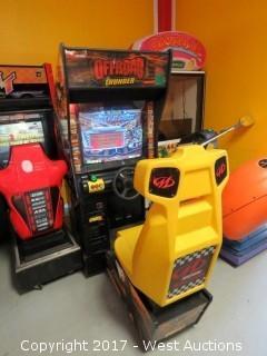 Midway Offroad Thunder Arcade Machine