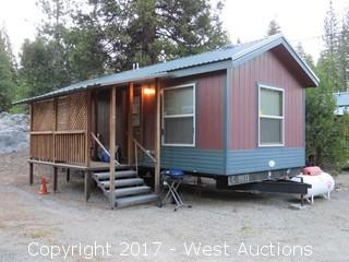 2009 Laurel Creek Tiny Home Trailer Consisting of (2) Studio Apartments and Porch