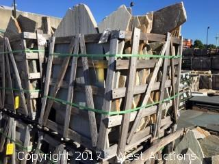 Full Crate; China White Gold Quartz Random