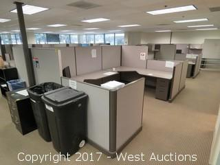 (36) Wall Cubicle Sections