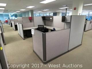 (37) Wall Cubicle Sections