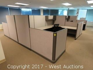 (20) Wall Cubicle Sections