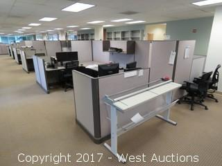 (73) Wall Cubicle Sections