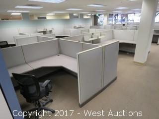 (35) Wall Cubicle Sections