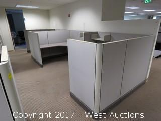 (16) Wall Cubicle Sections