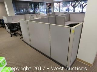 (27) Wall Cubicle Sections