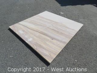 Crate; Indian Rainbow Teak SandStone 24x24 Gauged