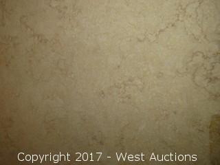 """(1) Silvia Oro Honed Limestone Slab 84""""x61"""""""
