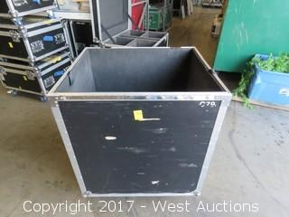 "Portable Road Case 35"" x 25"" x 35"""