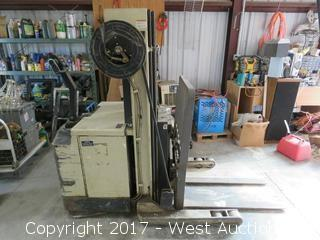 Crown 3000 Lbs Electric Walk Behind Forklift with Battery Charger