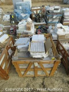 "Crate; 12"" x 12"" Arcadia Travertine Mosaic Tile"