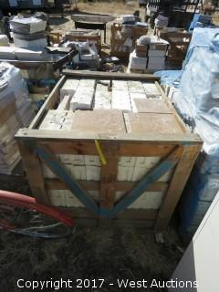"""(1) Crate; Misc. 12"""" x 12"""" Tile"""