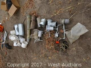 Bulk Lot; Irrigation Piping Accessories