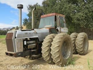 White Field Boss 4-150 Articulating Tractor