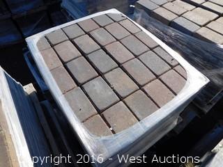 1 Pallet - 60 mm Pavers - Cobble Stone Rectangle - Sonoma Blend