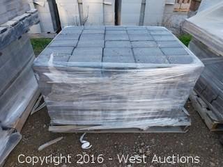 1 Pallet - 60 mm Pavers - Cobble Stone Rectangle - Shasta Blend