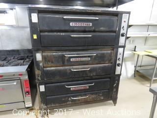 Blodgett 961 Triple Deck Pizza Oven