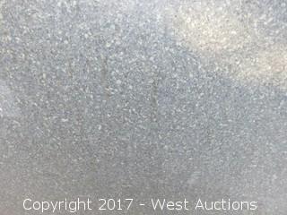 """(1) Granite Slab 3cm 10' x 55"""""""