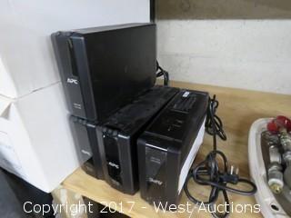 (4) APC Black-UPS Pro 700 Units