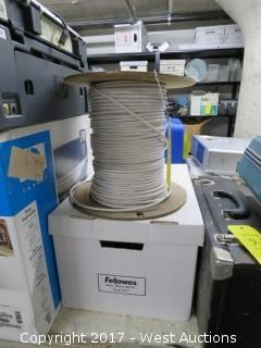 (1) Spool of Cable
