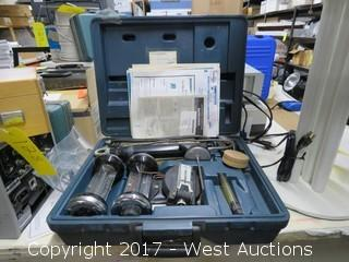 Bacharach Gas Burner Combustion Testing Kit and Carry Case