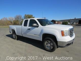 2007 GMC Sierra 2500 HD SLE