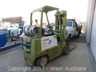 Clark Propane Forklift (Non-functional)