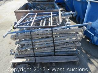 Pallet Of (14) Scaffolding