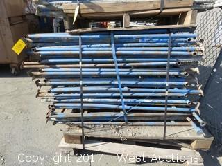 Pallet Of (23) Scaffolding