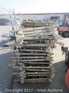 Pallet of (22) Scaffolding