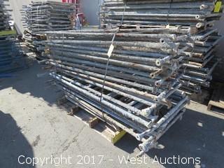 Pallet of (10) Scaffolding