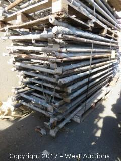Pallet of (19) Scaffolding