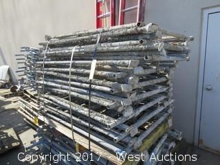 Pallet of (16) Scaffolding