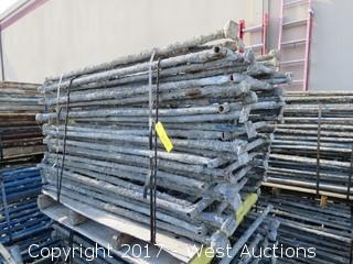 Pallet of (17) Scaffolding