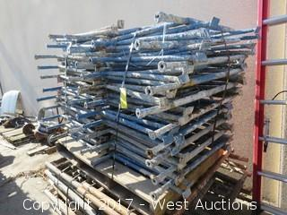 Pallet of (35) Scaffolding