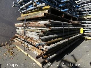 Pallet Of (8) Scaffolding