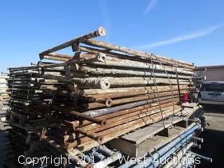 Pallet Of (12) Scaffolding