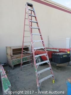 Werner 12' Fiberglass Ladder